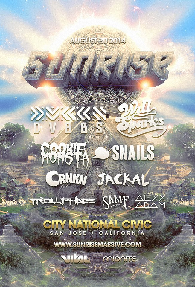 Sunrise 2014 Flyer