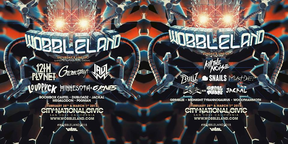 Wobbleland 2015 Lineup