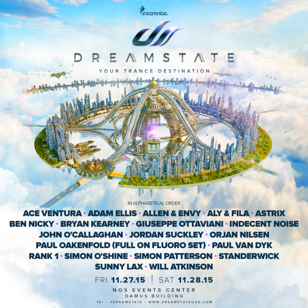Dreamstate Lineup(1)