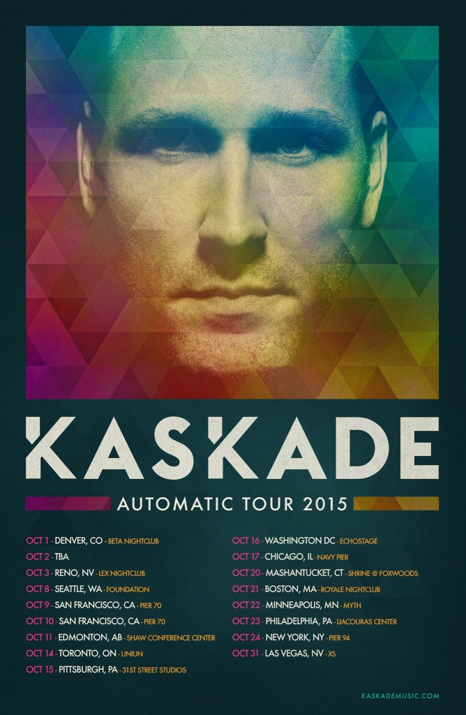 kaskade tour
