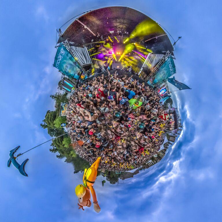 aerial circle
