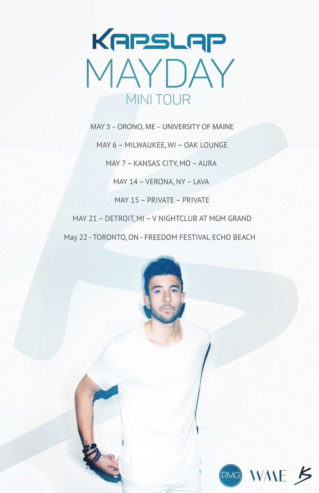 Kap-Slap-Mayday-Mini-Tour