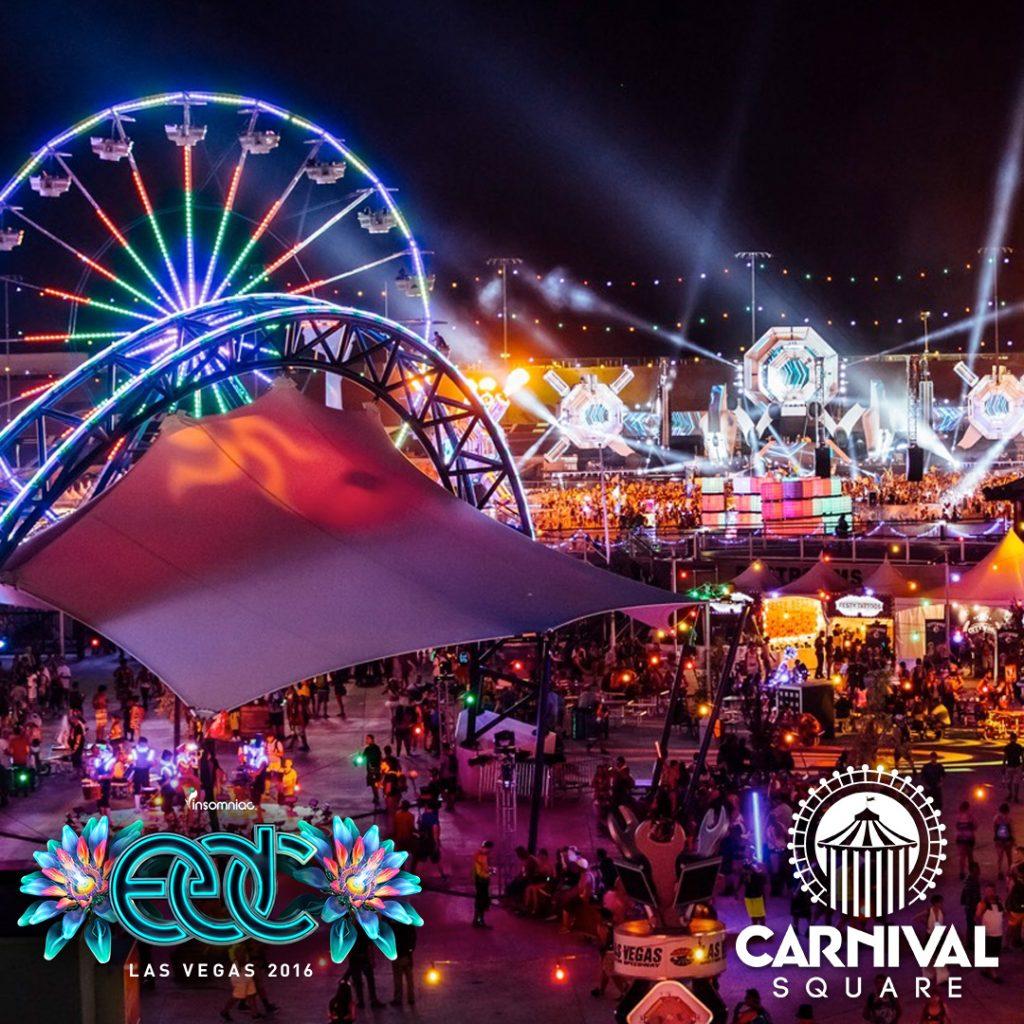 carnival-square_EDC Las Vegas 2016