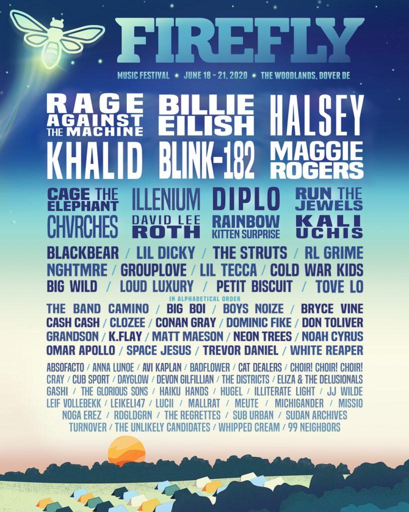 Firefly Music Festival Reveals Star-Studded 2020 Lineup