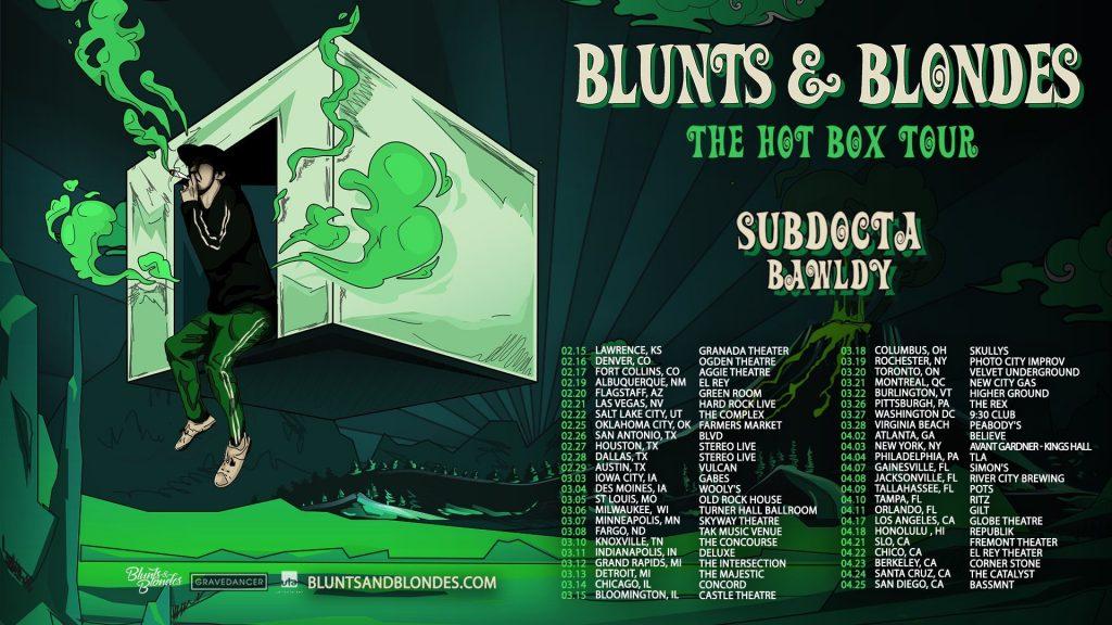 blunts & blondes hot box tour