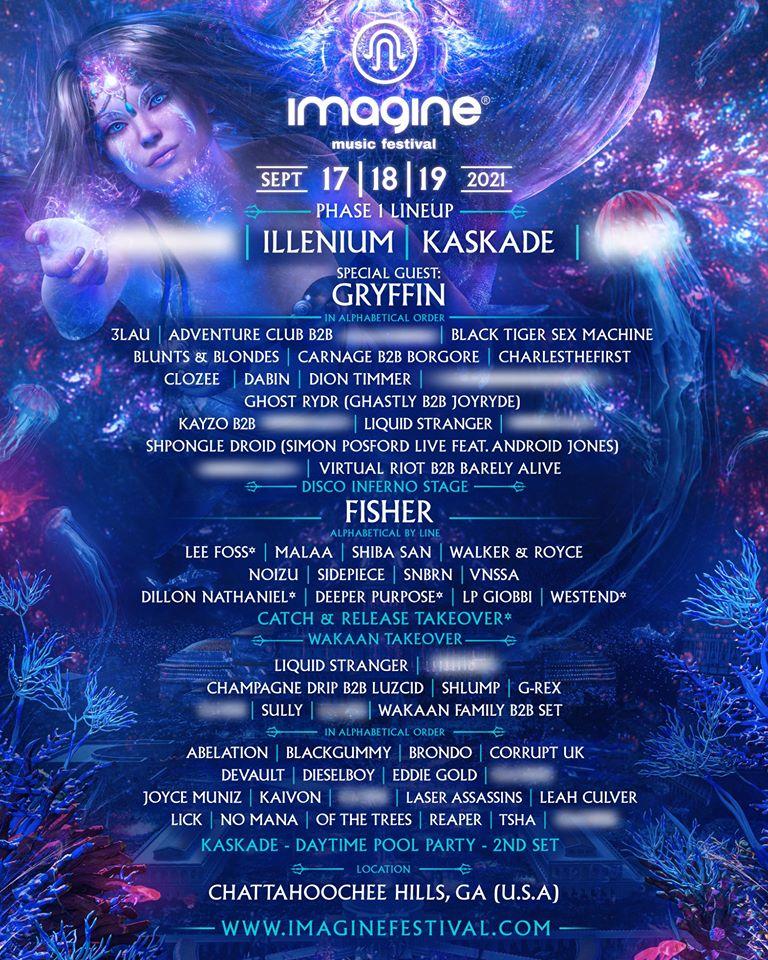 Imagine Festival 2021 Phase 1